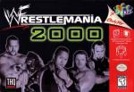 WWF WrestleMania 2000 Box Art Front