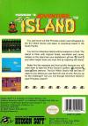 Adventure Island Box Art Back