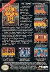 Double Dragon III - The Sacred Stones Box Art Back