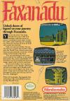 Faxanadu Box Art Back