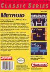 Metroid Box Art Back