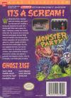 Monster Party Box Art Back