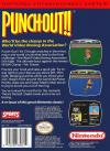 Punch-Out!! Box Art Back