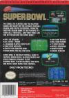 Tecmo Super Bowl Box Art Back