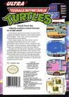 Teenage Mutant Ninja Turtles Box Art Back