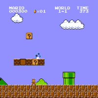 Adventures of Ice Mario Screenshot 2