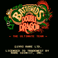 Battletoads & Double Dragon - The Ultimate Team Title Screen
