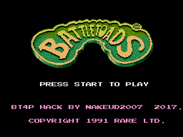 Battletoads 4 players Co-op hack
