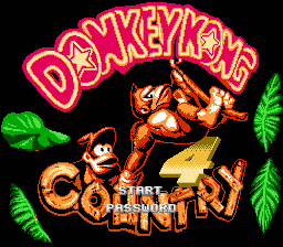 Donkey Kong Country 4 Title Screen