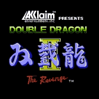 Double Dragon II - The Revenge Title Screen