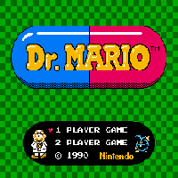 Dr. Mario Title Screen