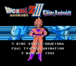 Dragon Ball Z III - Killer Androids (English translation)