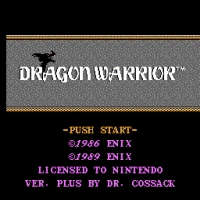 Dragon Warrior Plus Title Screen