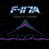 F-117a Stealth Fighter Title Screen