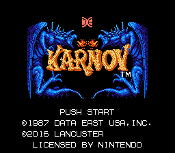 Karnov - Hack by Lancuster