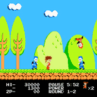 Kid Niki Radical Ninja Screenshot 2