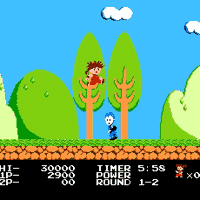 Kid Niki Radical Ninja Screenshot 3