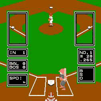 Play Major League Baseball Online NES Game Rom