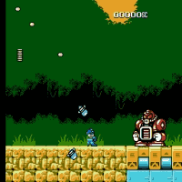 Rockman 5 Endless no laser areas Screenshot 1