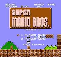 Sirius Mario Bros 1 Title Screen