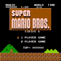 Sirius Mario Bros 6 Title Screen