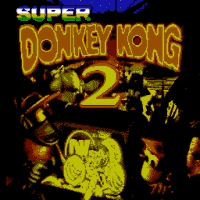 Super Donkey Kong Country 2 Title Screen
