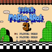 Super Mario Bros 3 - 2nd Run Title Screen