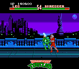 Teenage Mutant Ninja Turtles - Tournament Fighters Screenshot 2