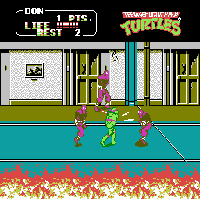 Teenage Mutant Ninja Turtles II - The Arcade Game Screenshot 2