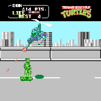 Teenage Mutant Ninja Turtles II - The Arcade Game Screenshot 3