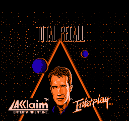 Total Recall Title Screen
