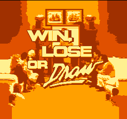 Win, Lose or Draw Title Screen