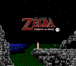Zelda II - Shadow of Night (easy version)