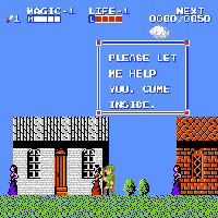 Zelda II - The Adventure of Link Screenshot 3