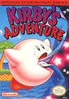 Kirby's Adventure Box Art Front