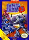 Mega Man 3 Box Art Front