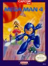 Mega Man 4 Box Art Front