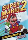 Super Mario Bros 2 Box Art Front