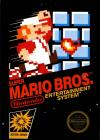 Super Mario Bros Box Art Front