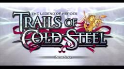 The Legend of Heroes: Trails of Cold Steel Title Screen