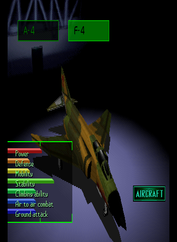 Ace Combat 2 Screenthot 2