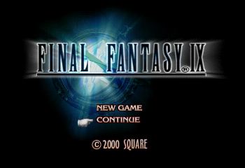 Final Fantasy IX Title Screen