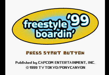 Freestyle Boardin' '99