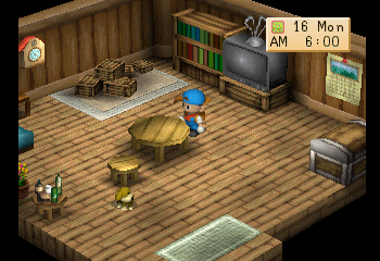 Harvest Moon - Back to Nature (Trade Demo) (PSX) Game