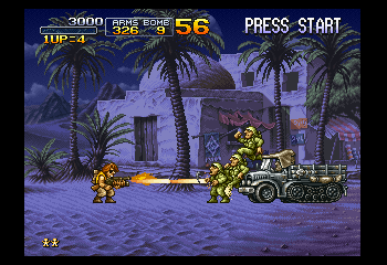 Metal Slug X Screenthot 2