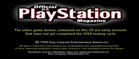 Official U.S. PlayStation Magazine Demo Disc 11