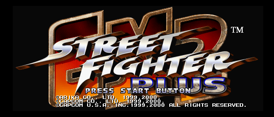 Play <b>Street Fighter EX2 Plus</b> Online