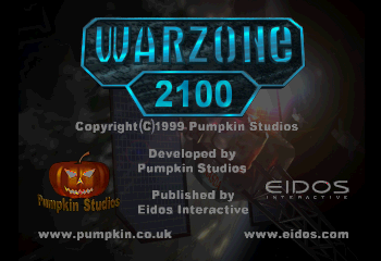 Warzone 2100 Title Screen