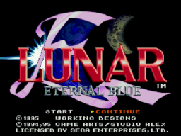 Lunar: Eternal Blue
