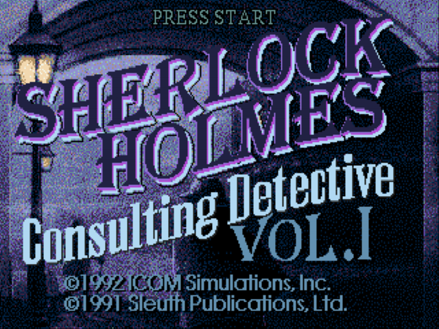 Play <b>Sherlock Holmes - Consulting Detective Vol. 1</b> Online